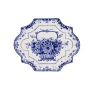 Plate flowerbasket