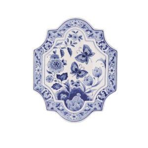 Plate butterfly