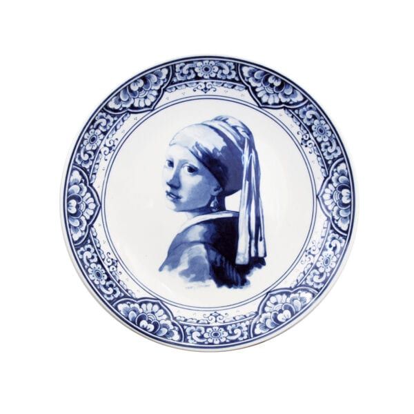 Plate Vermeer Girl with pearl earring