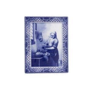 Plate Vermeer Milkmaid