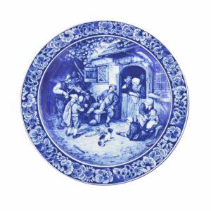 Plate scene Van Ostade