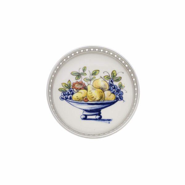 Coaster fruit with tin border