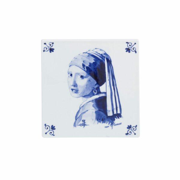 Tile Vermeer Girl with pearl earring