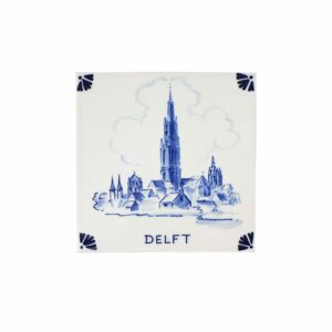 Tile Vermeer View of Delft