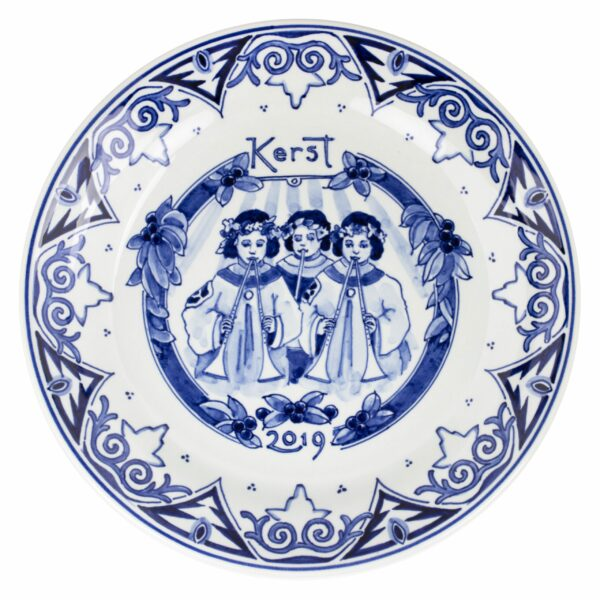 Christmas plate Ø 25cm, 2019