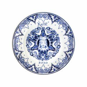 Christmas plate 2020 large