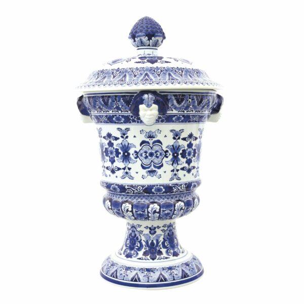 Satyr vase flower