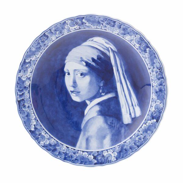Plate Vermeer Girl with pearl earring