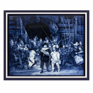 Tilepainting Rembrandt Night watch