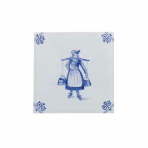 Tile milkmaid