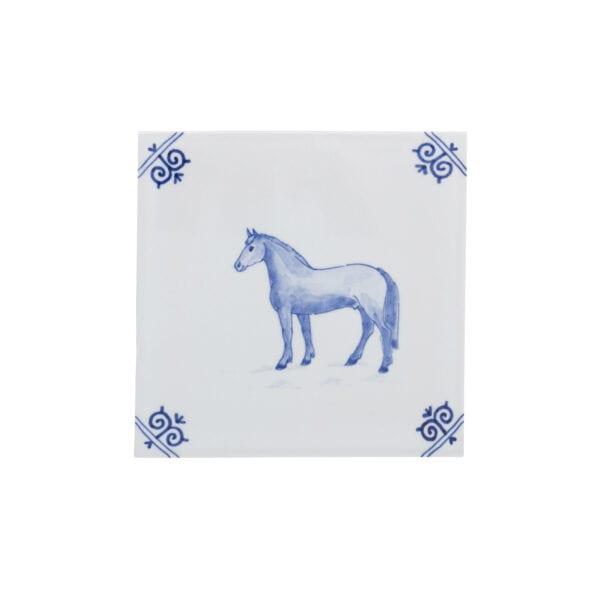 Tile farm horse