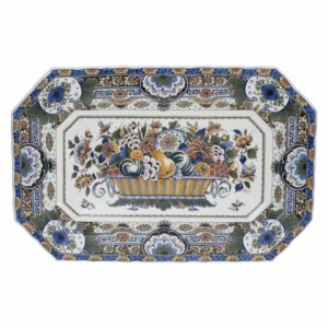 Plate oval large