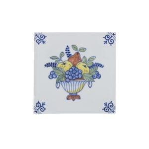 Tile fruit basket