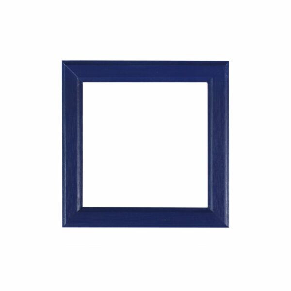 Frame tile blue