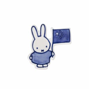miffy magnet Chinese flag