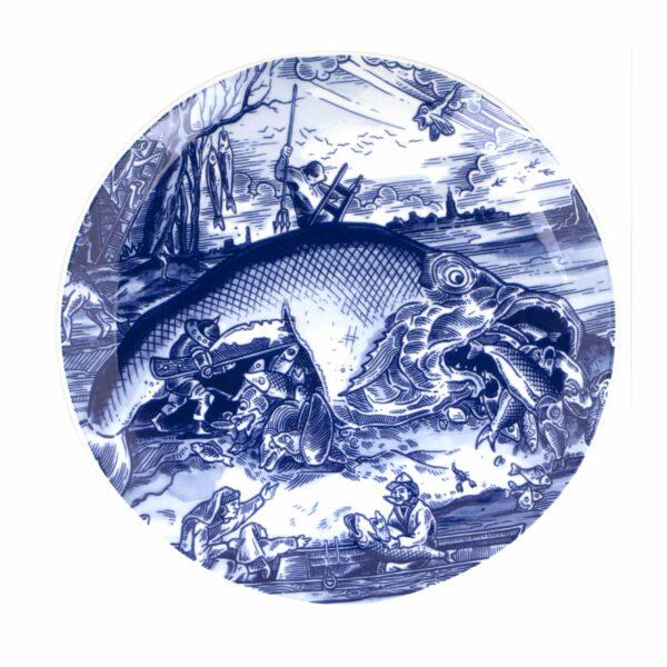 Plate Pisces Bruegel