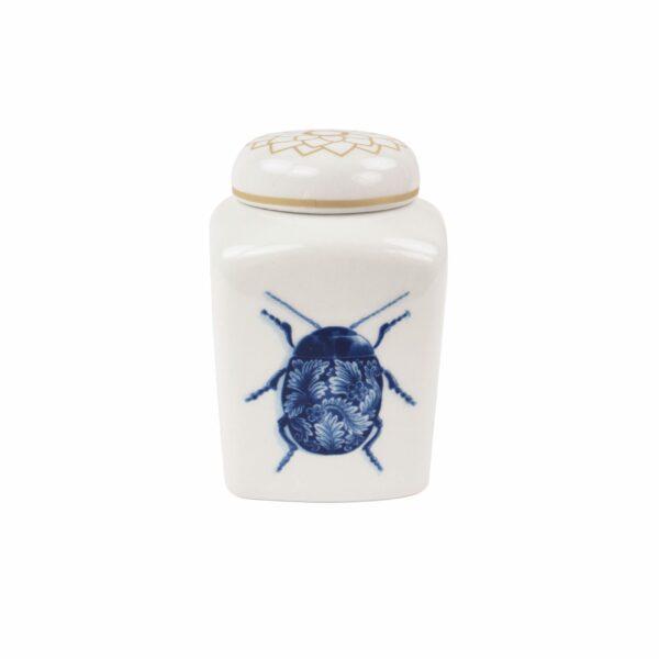 Tea caddy Wunderkammer Bugs
