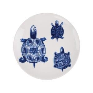 Plate 24cm Wunderkammer Turtles