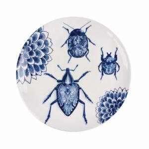 Plate 28cm Wunderkammer Bugs