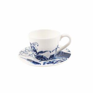 Espresso/coffee cup & saucer