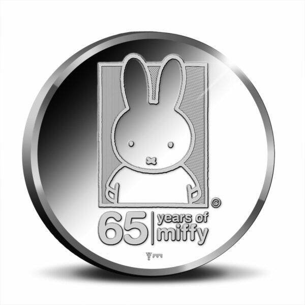 65 Years of miffy Silver 1 Ounce - Royal Delft Edition