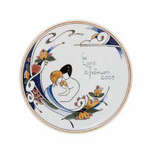 Plate special DKP polychrome