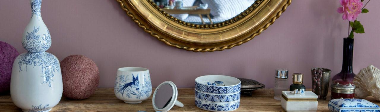 Double Gourd & Mirror Royal Delft