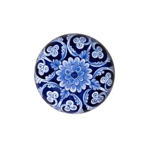 Memory Pebble Blue Flower